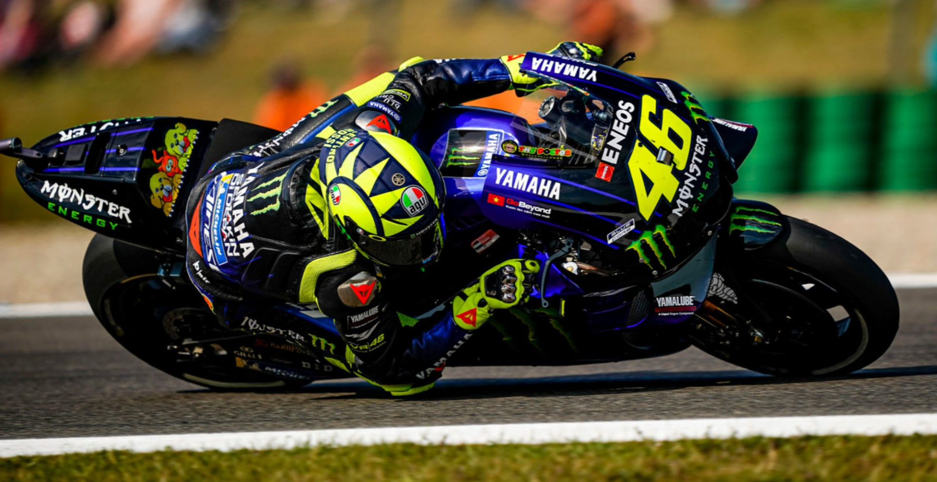 Valentino Rossi (46). Photo courtesy of Monster Energy Yamaha.