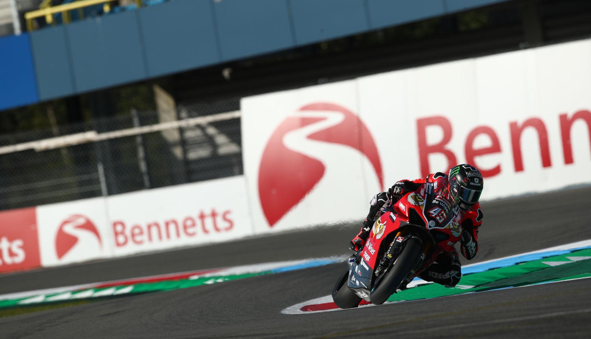 British Superbike: Scott Redding Takes Pole Position At Assen