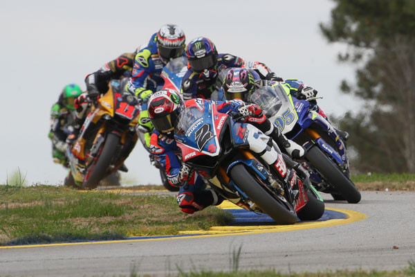 MotoAmerica is returning to NBC Sports in 2020. Photo by Brian J. Nelson.
