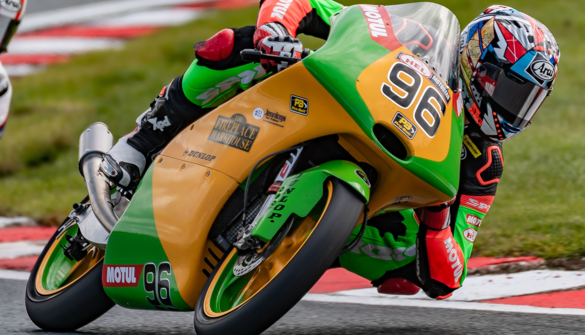 Brandon Paasch won both Motostar races RRW-