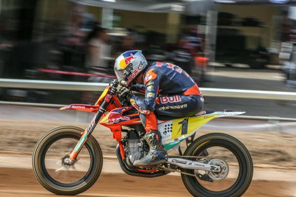 Dan Bromley (1). Photo courtesy of Red Bull KTM.
