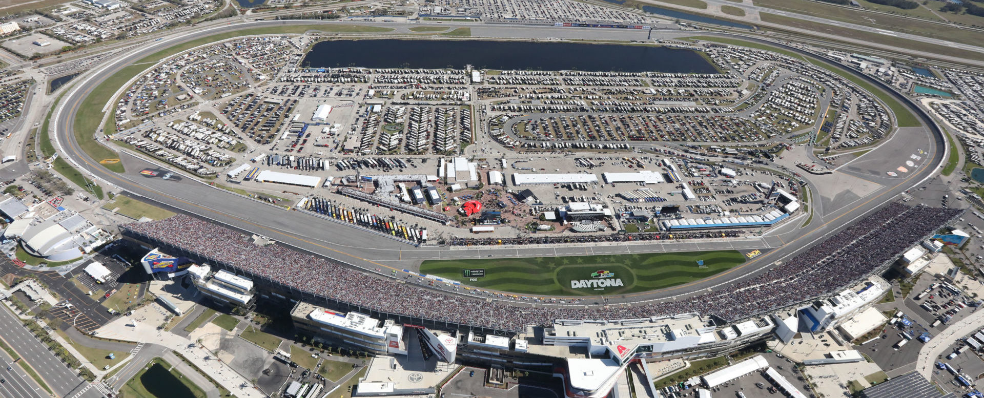 Daytona International Speedway. Photo courtesy of Daytona International Speedway.