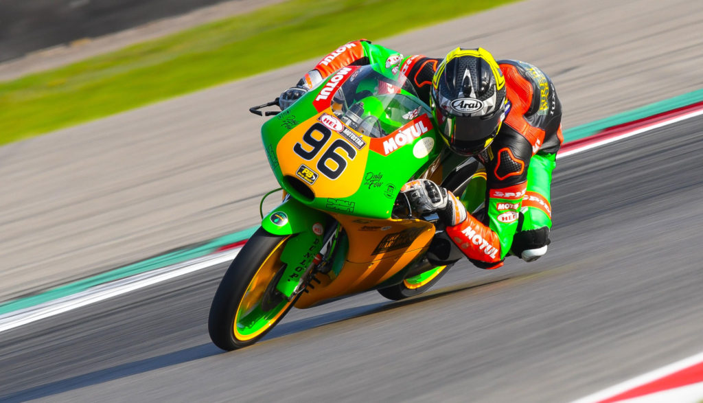 Brandon Paasch (96) in action at Assen. Photo by Camipix Photography, courtesy of Brandon Paasch.
