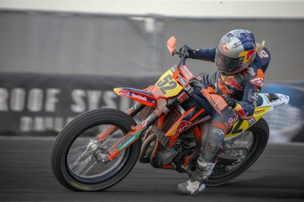 Shayna Texter (52). Photo courtesy of Red Bull KTM.