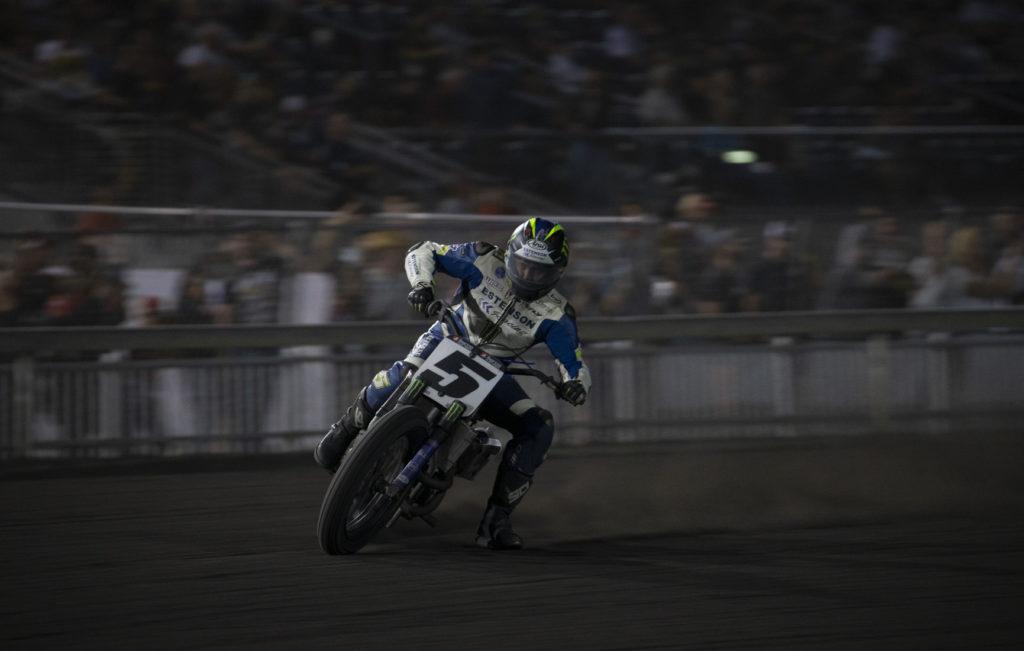 Jake Johnson (5). Photo by Andrea Wilson, courtesy of Estenson Racing.