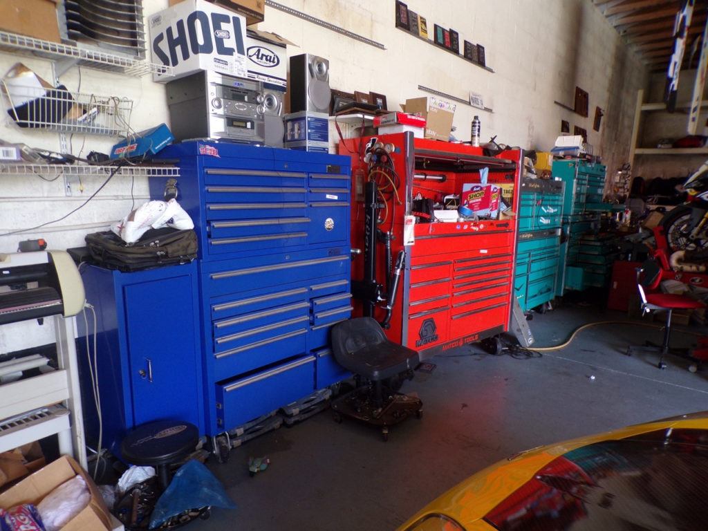 The auction will also include tool boxes, equipment, spare parts, and more.