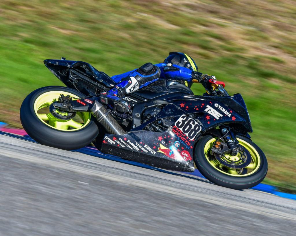 LRRS racer Daniel Weems (368). Photo by Martin Hanlon, courtesy of LRRS/NHMS.