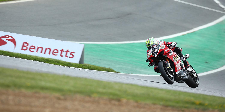 Josh Brookes (25). Photo courtesy of MotorSport Racing Vision.