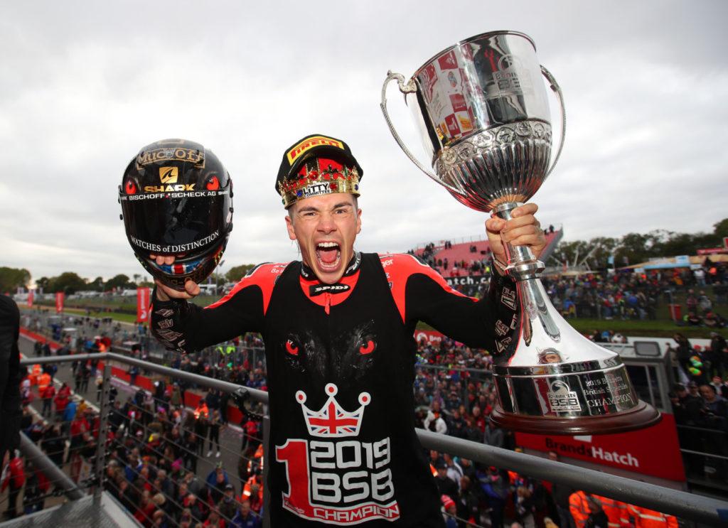 Scott Redding, the 2019 British Superbike Champion. Photo courtesy of MotorSport Vision Racing.