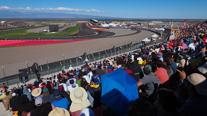 San Juan Villicum Circuit. Photo courtesy of Dorna.