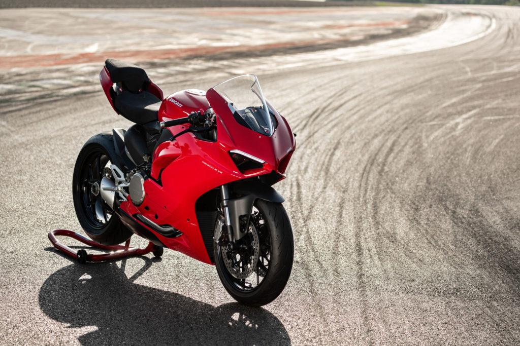Ducati's new 2020-model Panigale V2. Photo courtesy of Ducati.
