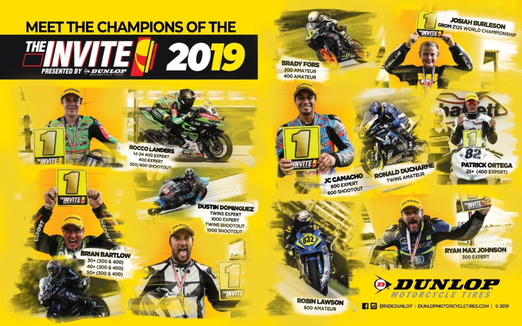 The Champions of The Invite Presented by Dunlop 2019.