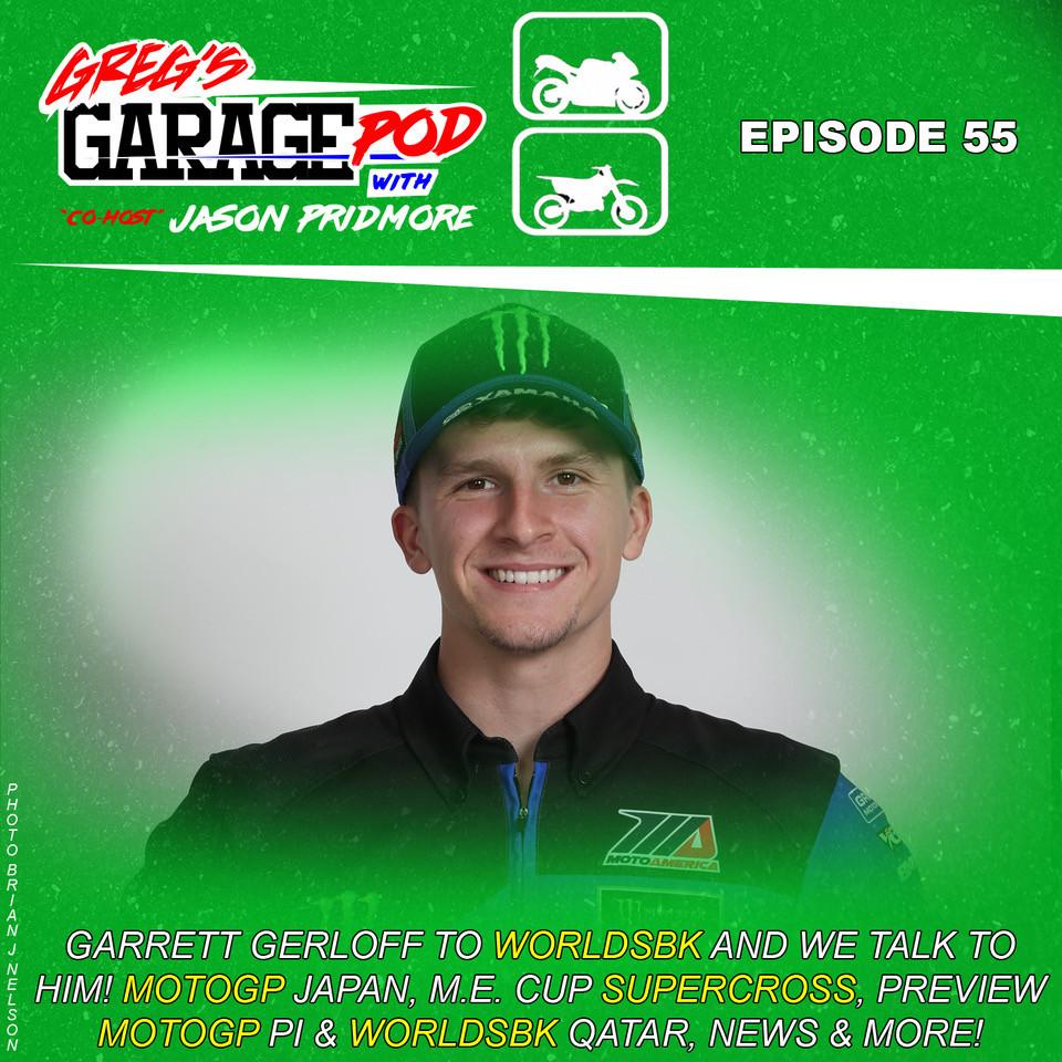 Garrett Gerloff. Photo courtesy of Greg's Garage Pod.