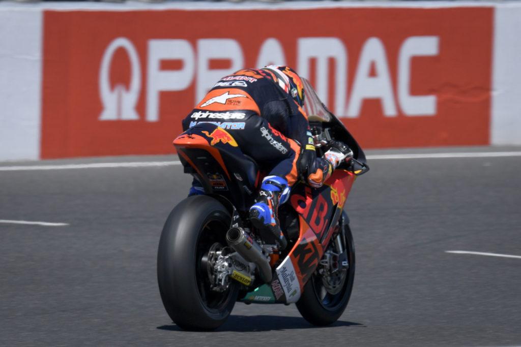 Jorge Martin. Photo courtesy of Dorna/www.motogp.com.