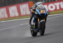 Luca Marini (10). Photo courtesy of Dorna.