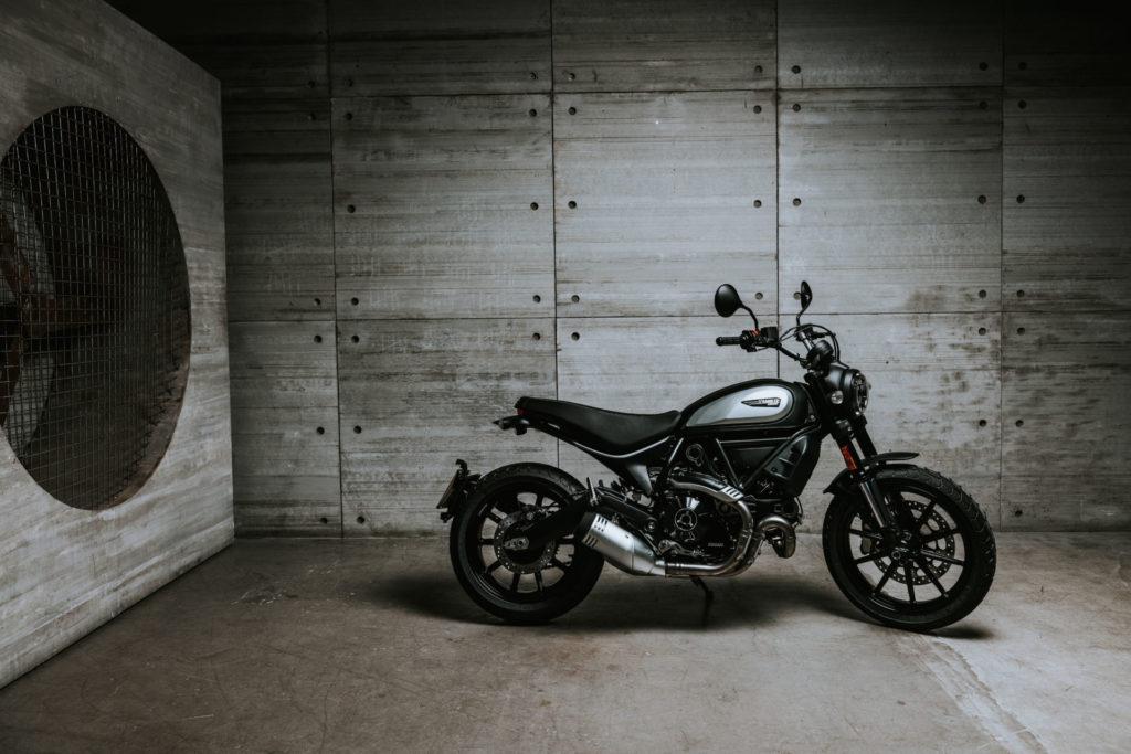 A 2020-model Ducati Scrambler Icon Dark. Photo courtesy of Ducati.
