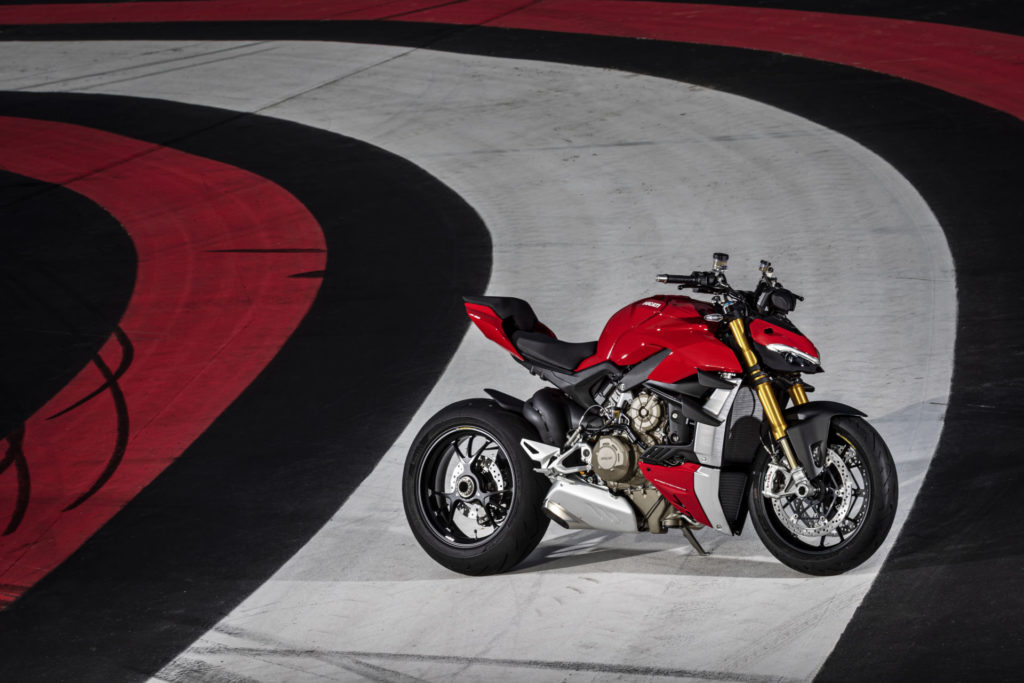 A 2020-model Ducati Streetfighter V4 S. Photo courtesy of Ducati.