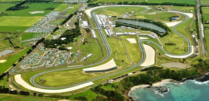 Phillip Island Grand Prix Circuit, in Australia. Photo courtesy of Michelin.