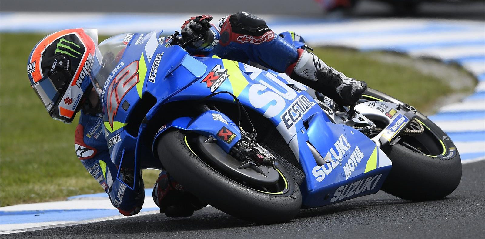 Team Suzuki ECSTAR's Alex Rins (42). Photo courtesy of Team Suzuki Press Office.