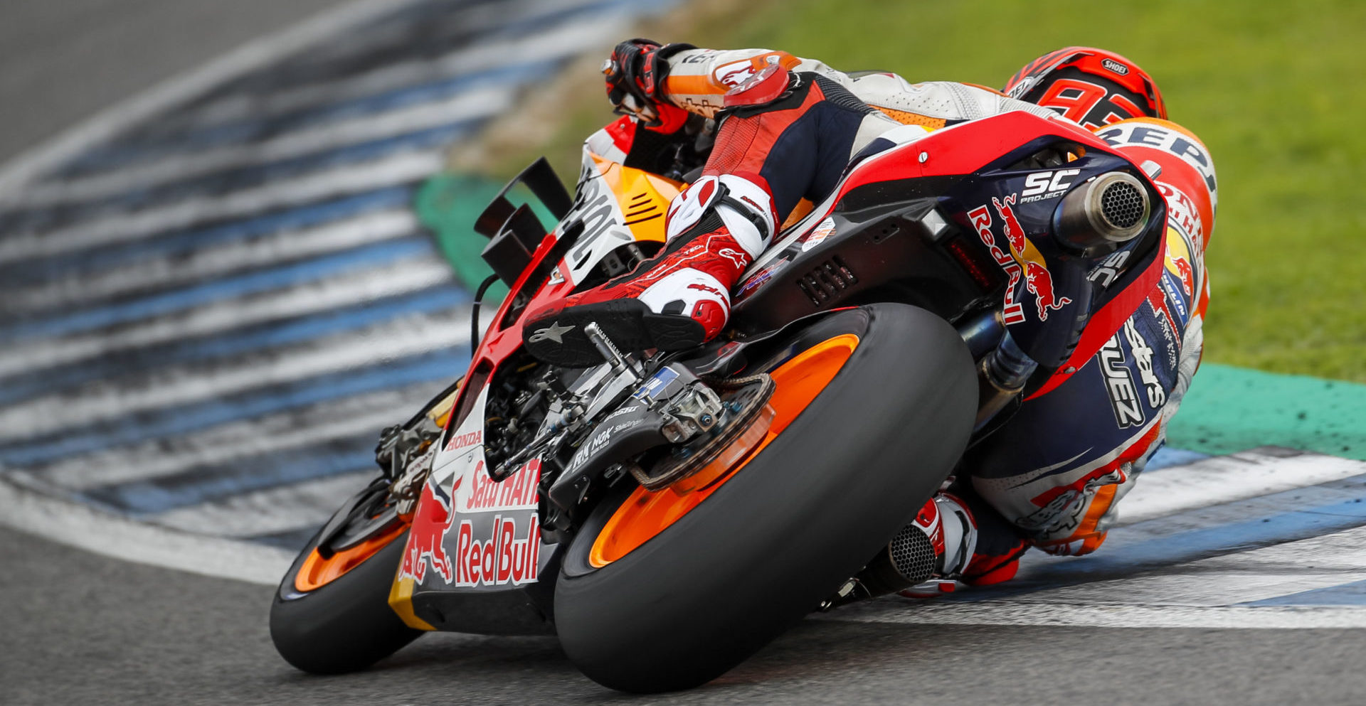 Marc Marquez. Photo courtesy of Repsol Honda.