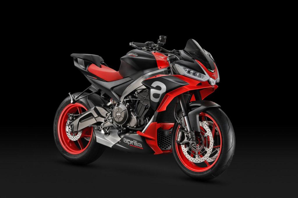 """Aprilia's Tuono 660 """"concept bike."""" Photo courtesy of Piaggio Group."""