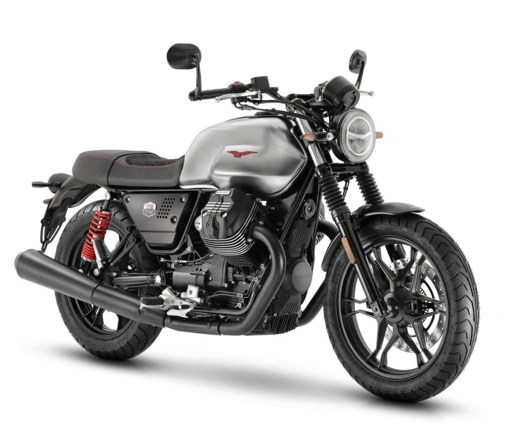 A 2020 Moto Guzzi V7 III Stone S. Photo courtesy of Piaggio Group.