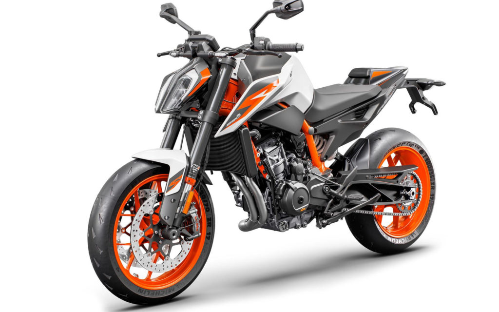 A 2020 KTM 890 Duke R. Photo courtesy of KTM.