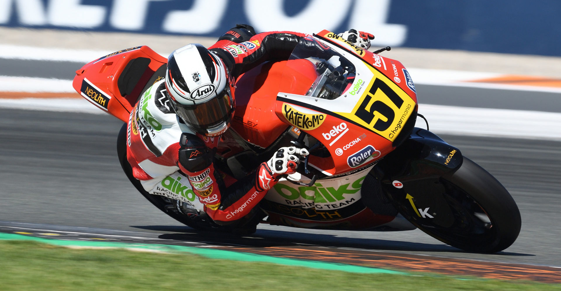 Edgar Pons (57). Photo courtesy of FIM CEV Repsol Press Office.
