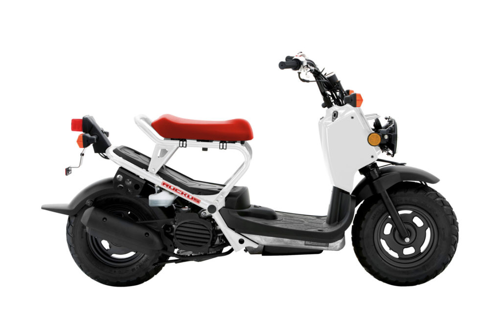 A Honda Ruckus. Photo courtesy of American Honda.