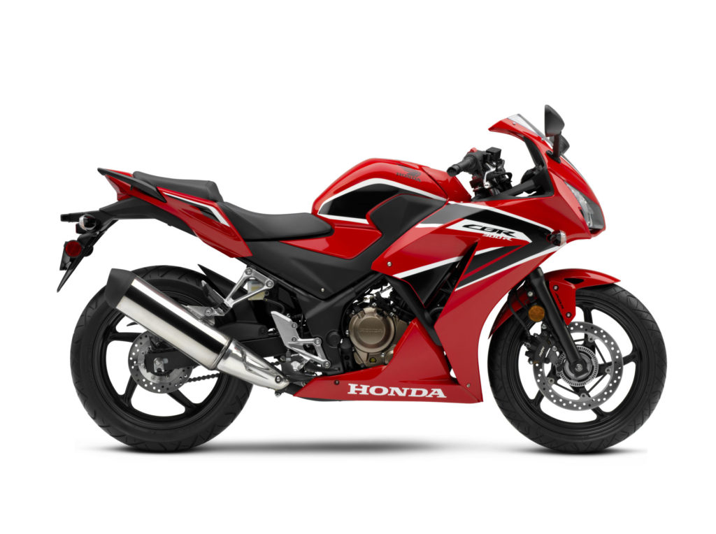 A Honda CBR300R. Photo courtesy of American Honda.