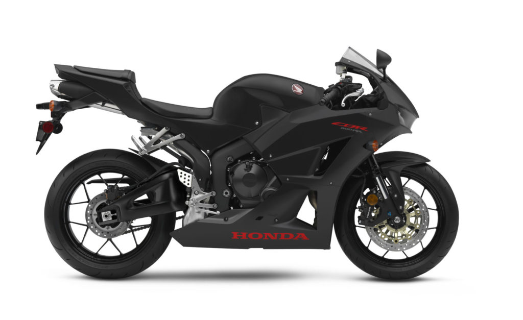 A 2020-model Honda CBR600RR. Photo courtesy of American Honda.