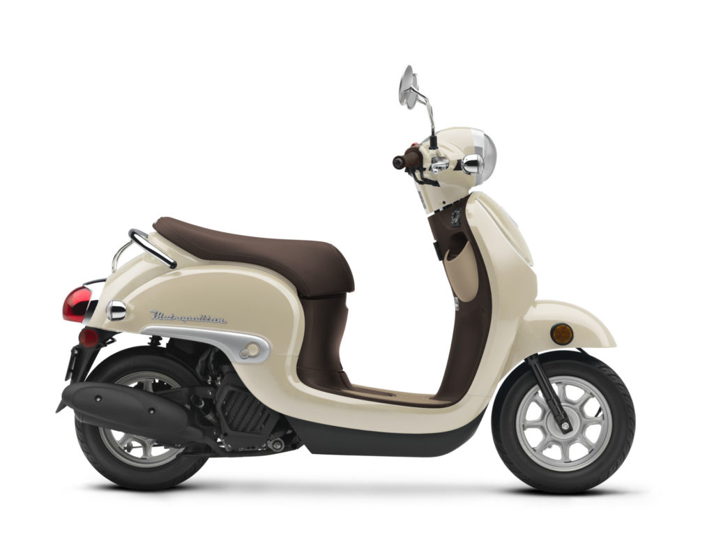 A 2020 Honda Metropolitan. Photo courtesy of American Honda.