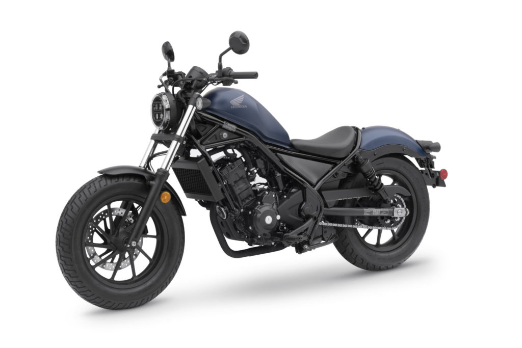 A 2020 Honda Rebel 300. Photo courtesy of American Honda.