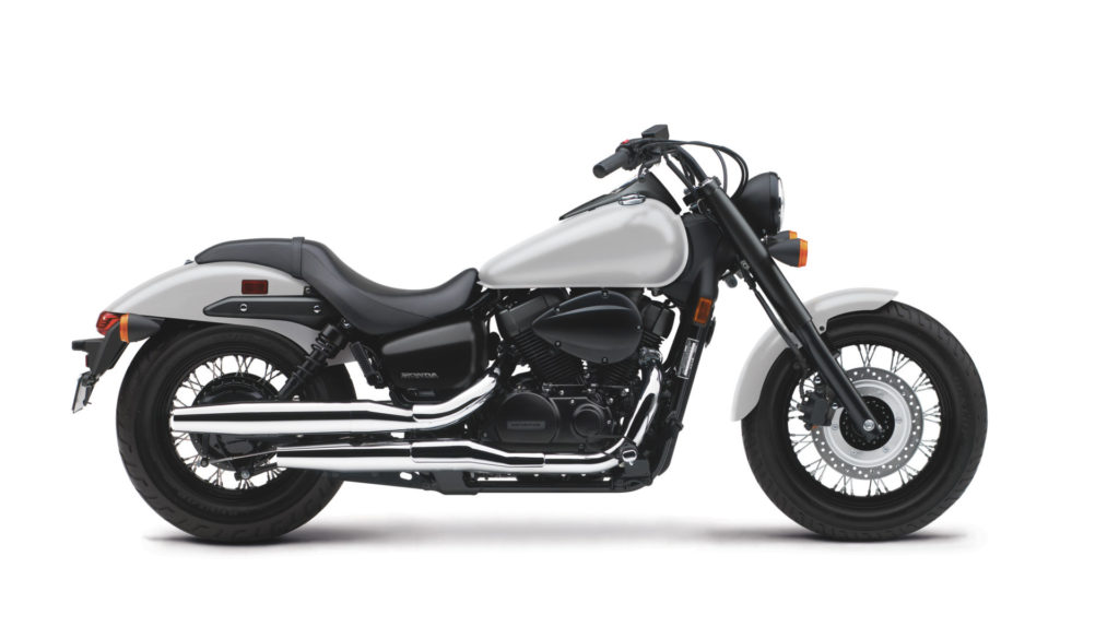 A 2020 Honda Shadow Phantom. Photo courtesy of American Honda.