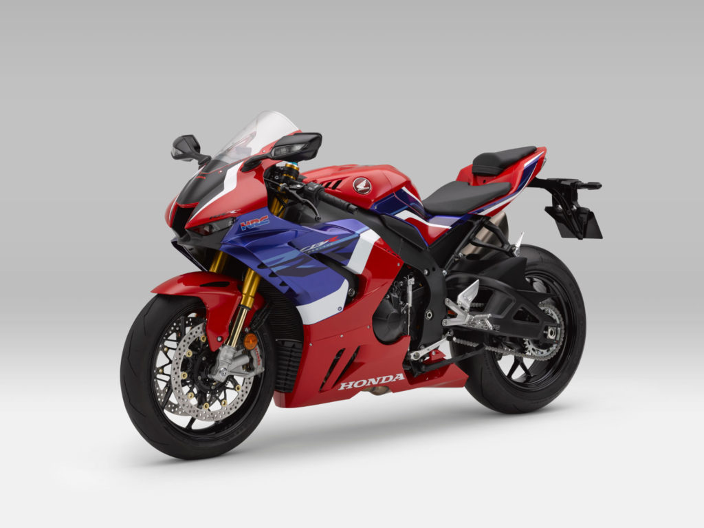 Honda's new 2020 CBR1000RR-R Fireblade SP. Photo courtesy of American Honda.