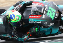 Franco Morbidelli (21). Photo courtesy of PETRONAS Yamaha SRT.