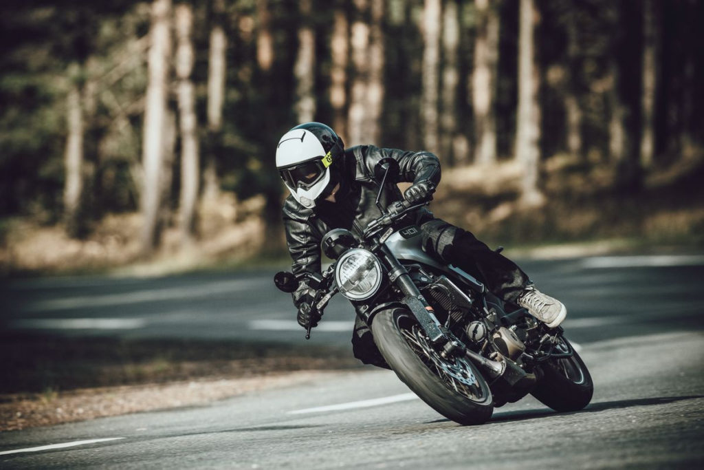 A 2020 Husqvarna Vitpilen 401 at speed. Photo courtesy of Husqvarna Motorcycles North America, Inc.