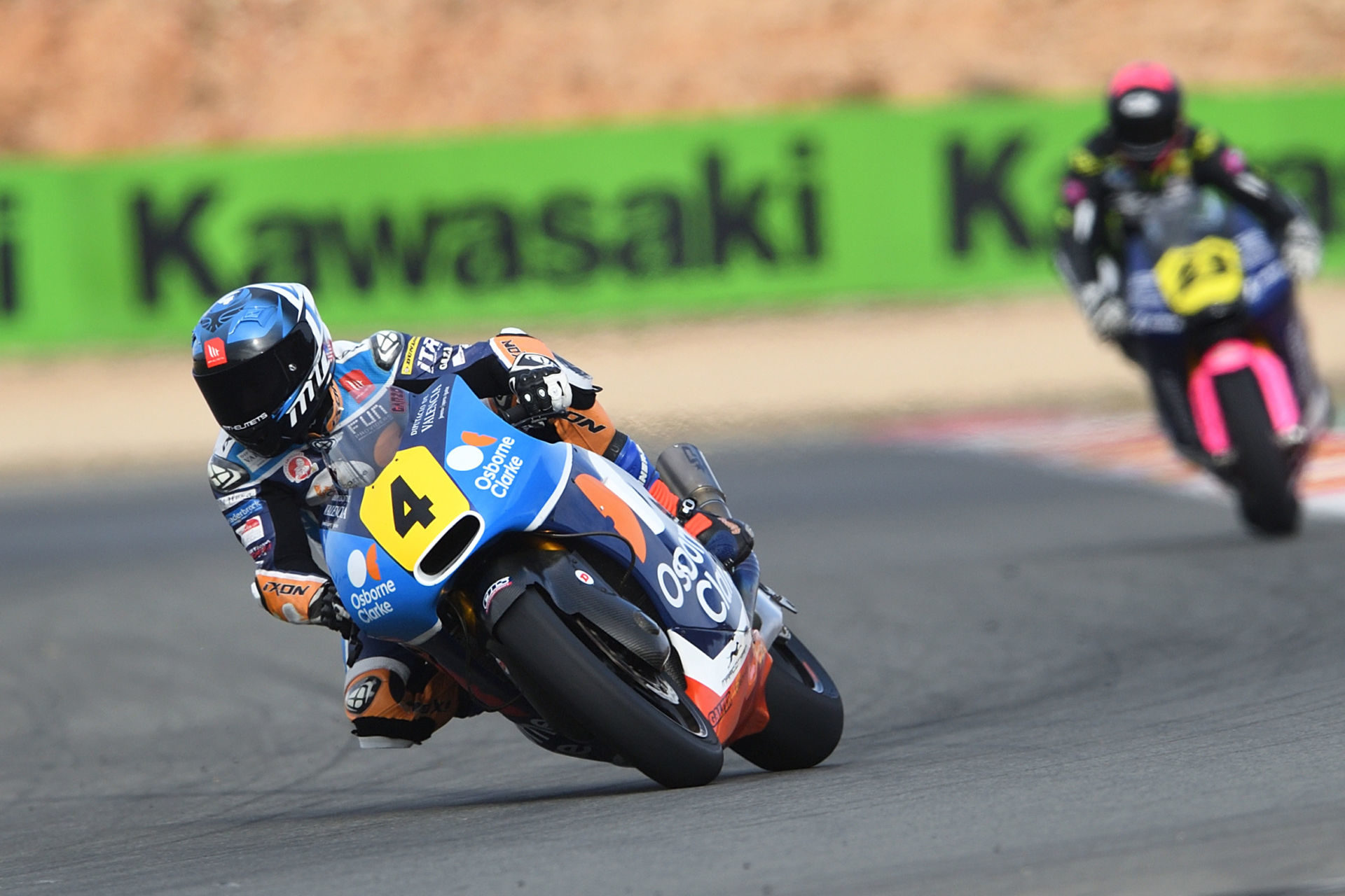 Hector Garzo (4). Photo courtesy of FIM CEV Repsol Press Office.
