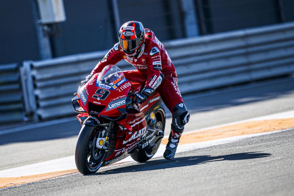 Danilo Petrucci (9). Photo courtesy of Ducati.