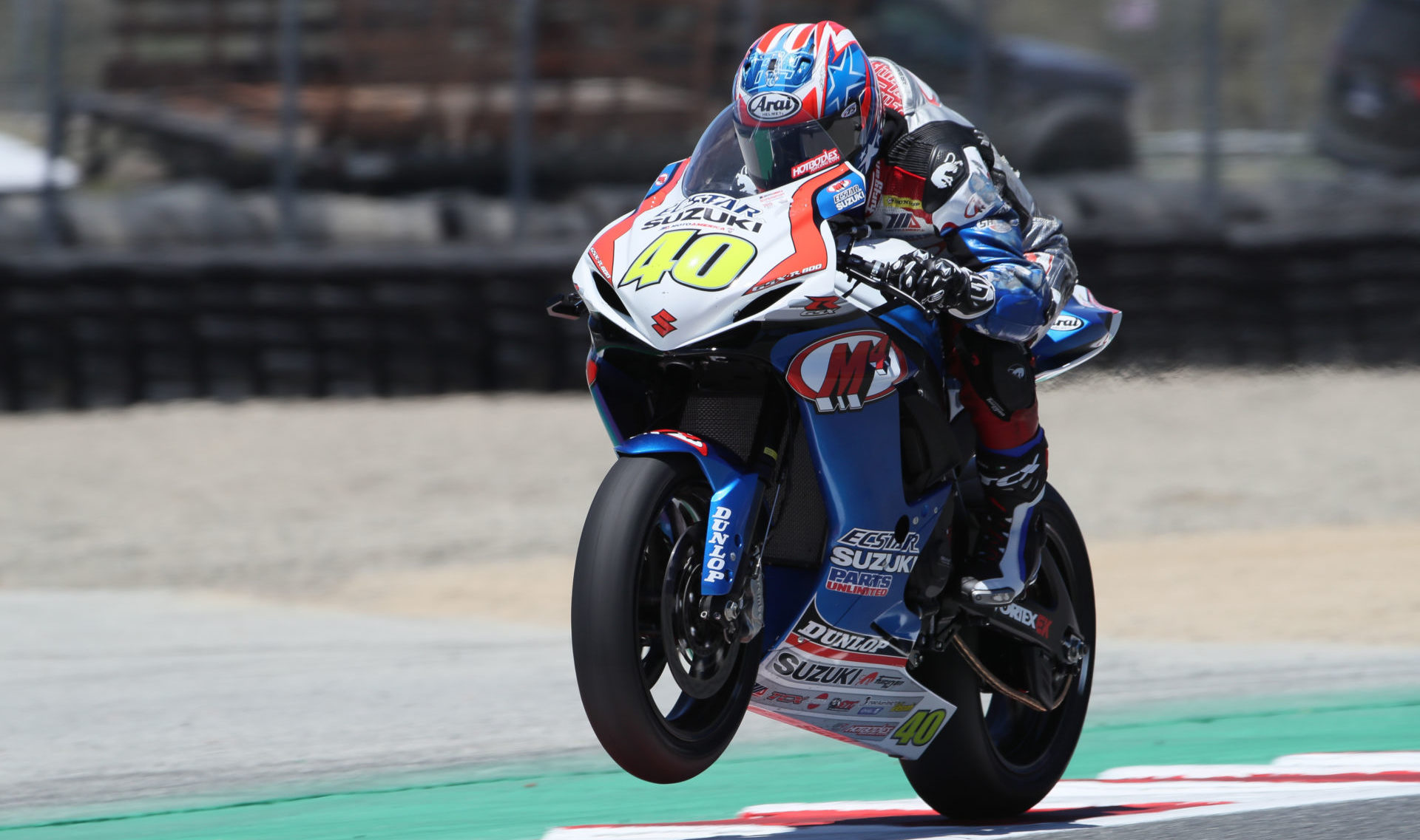 Sean Dylan Kelly (40) will make his Moto2 World Championship debut in the final round of the series held at the Ricardo Tormo Circuit in Valencia, Spain. Photo by Brian J. Nelson.