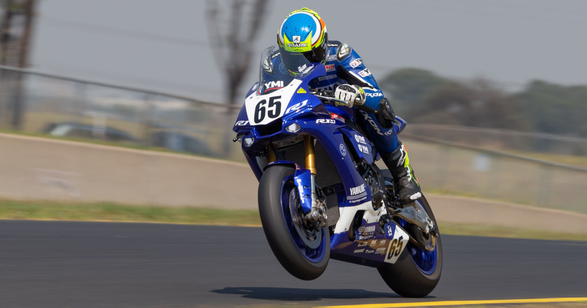 Cru Halliday (65). Photo courtesy of Motorcycling Australia.