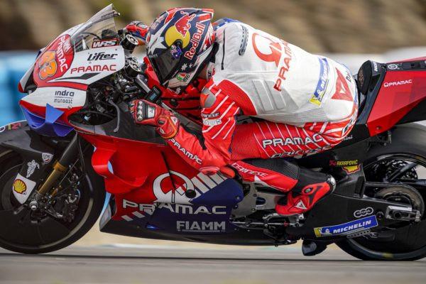 Jack Miller. Photo courtesy of Pramac Racing.