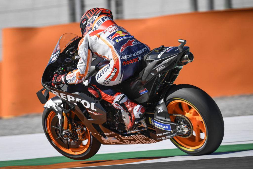 Marc Marquez. Photo courtesy of Dorna/www.motogp.com.