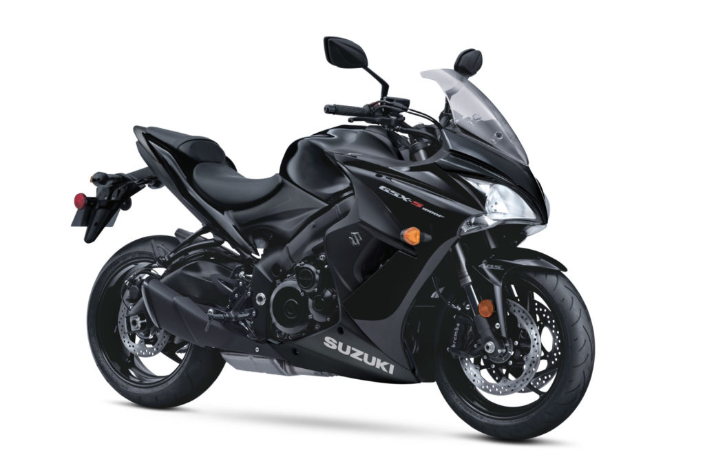 A 2020-model Suzuki GSX-S1000F. Photo courtesy of Suzuki Motor of America, Inc.