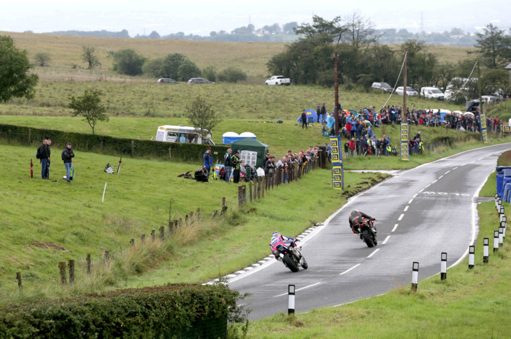 A scene from the 2019 Ulster Grand Prix. Photo courtesy of the Ulster Grand Prix Press Office.