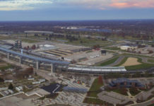 Indianapolis Motor Speedway. Photo courtesy of Indianapolis Motor Speedway.