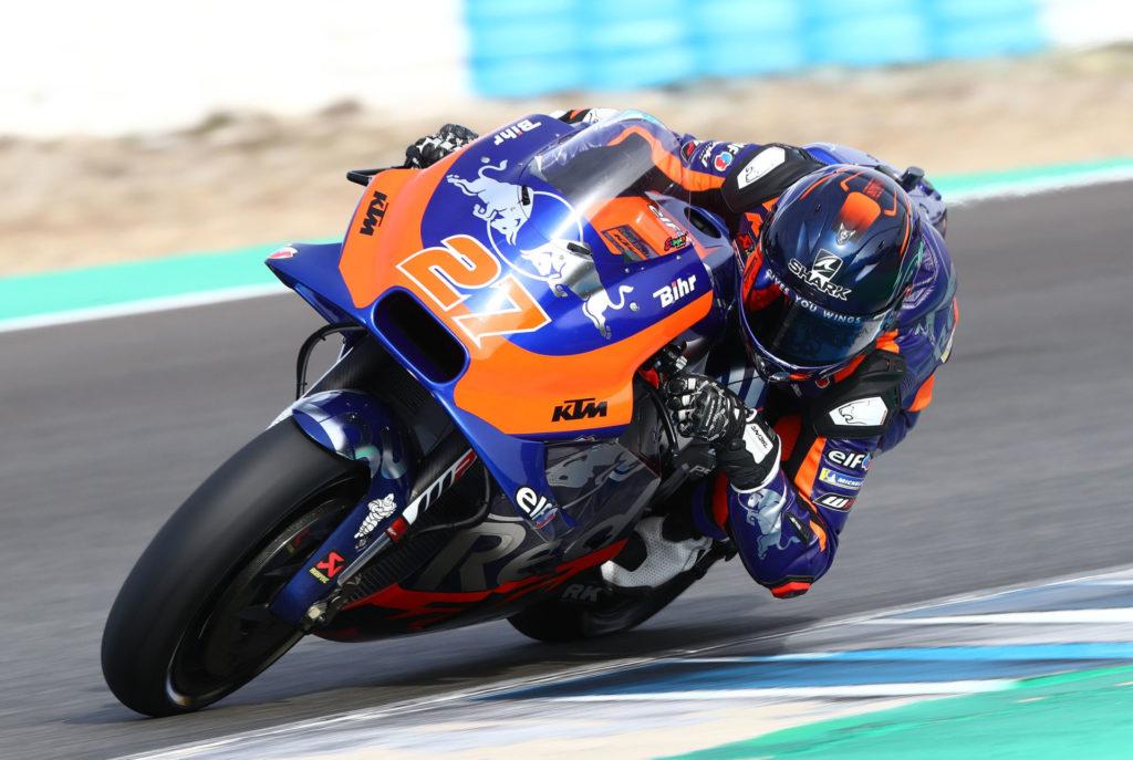 Iker Lecuona (41). Photo courtesy of Red Bull KTM Tech3.