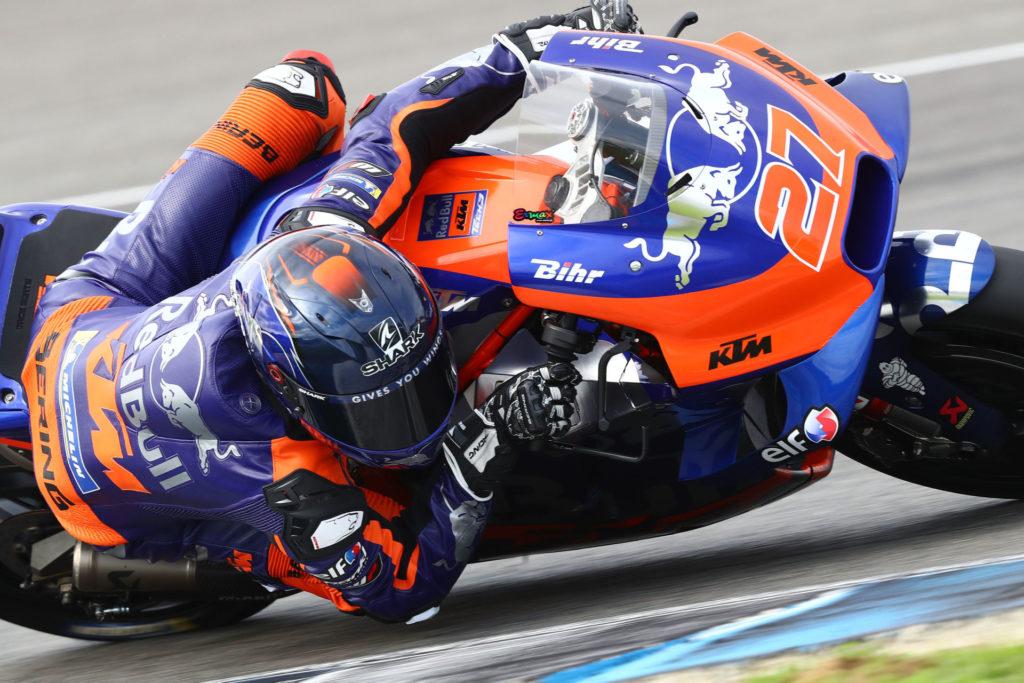 Iker Lecuona (27). Photo courtesy of Red Bull KTM Tech3.