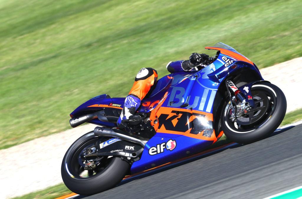Iker Lecuona. Photo courtesy of Red Bull KTM Tech3.