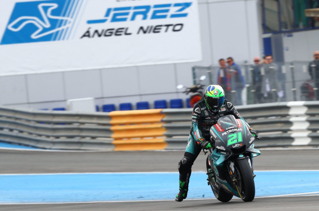 Franco Morbidelli (21). Photo courtesy of PETRONAS Yamaha SRT.